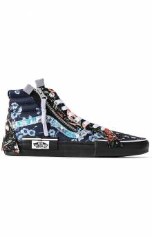 (WM1XHQ) Florals SK8-Hi Reissue Cap Shoes - Brocade