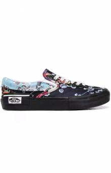(WM5XHQ) Florals Classic Slip-On Cap Shoe - Brocade
