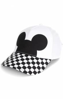Checkerboard Mickey Mouse Courtside Hat