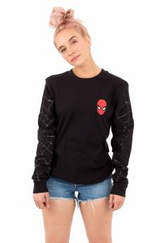 Spidey Webs L/S Shirt - Black
