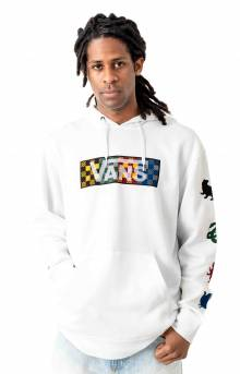 Four Pullover Hoodie - White