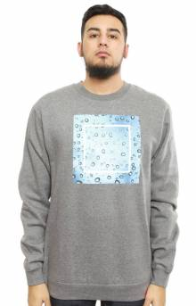 Drizzle Crewneck - Gunmetal Heather