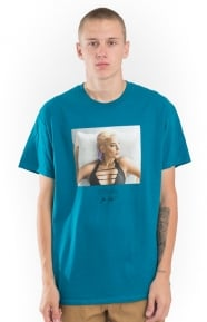 Strappy T-Shirt - Turquoise