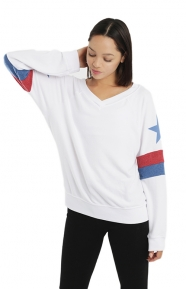 Star Spangled Banner Gidget Beach Jumper
