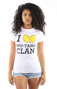 I Love Wu-Tang Clan Junior's T-Shirt