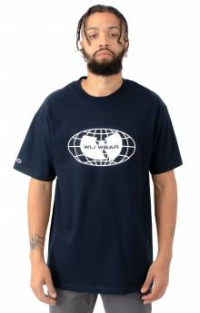 Glove Logo T-Shirt - Navy