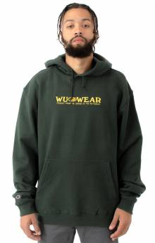 Straight From The Grain Pullover Hoodie - Forest Green
