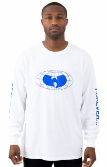 Straight From The L/S Shirt - White