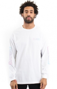 X-Large Clothing, Collapse L/S Shirt - White