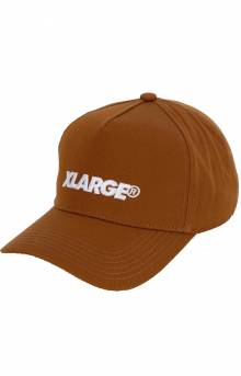 Embroidery Standard Logo Snap-Back Hat - Brown