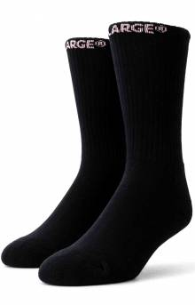Logo Middle Socks - Black
