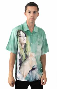 Oil Painting Button-Up Shirt