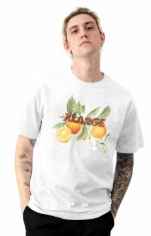 Orange T-Shirt - White