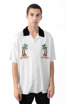 Permanent Vacation Button-Up Shirt - White