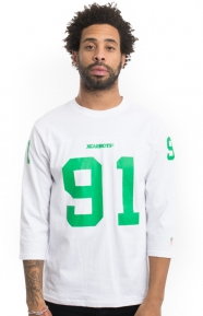 X-Large x Carrots Clothing, Football T-Shirt - White