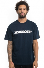 X-Large x Carrots Clothing, Navy T-Shirt