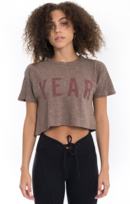 Year Of Ours Clothing, Cropped Tee