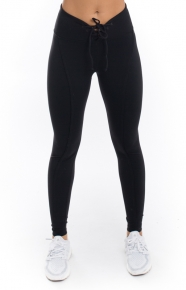 Football Leggings - Black