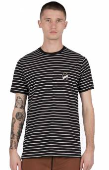 Badge Flintlock T-Shirt - Black/White