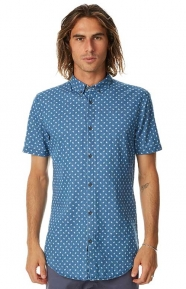 Facet 7FT Button-Up Shirt - Denim