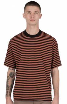 Stripe Box T-Shirt - Bronze/Black